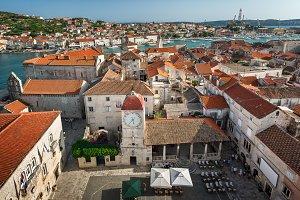 Aerial View on Trogir