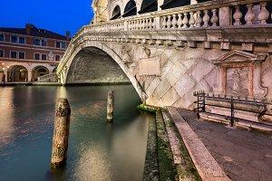 Rialto Bridge at Dawn, Venice