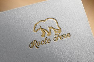 Rocle Fern Logo Template