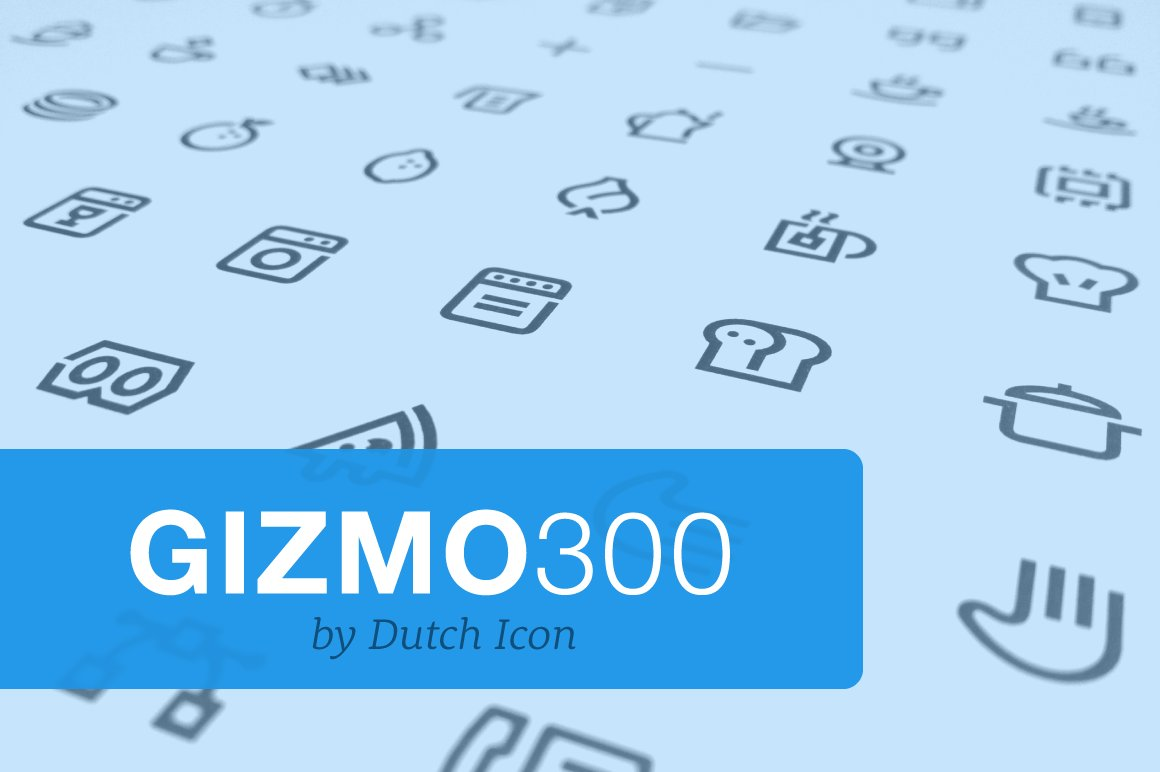 gizmo pack 300 icons creative market