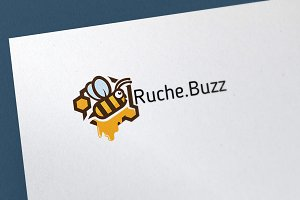 Ruche.Buzz Logo Template