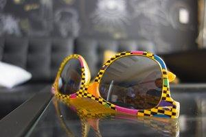 Yellow Sunglasses. Designers Shades