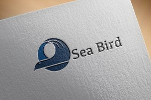 Sea Bird Logo Template