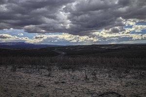 Storm Clouds Gather in Utah Desert