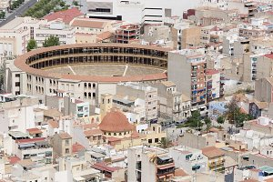 Bullring of Alicante in Spain