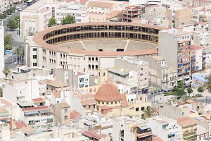 Bullring of Alicante in Spain.