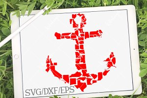 Anchor States in DXF SVG and EPS