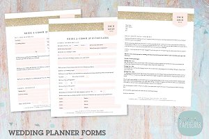 NG029 Wedding Planner Forms