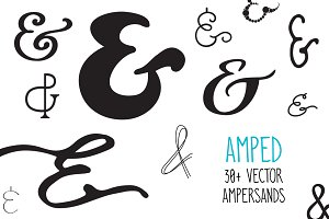 Amped Ampersands Bundle - 30+ &s