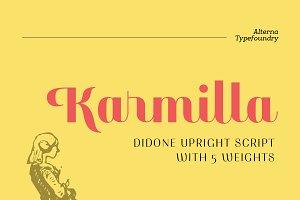Karmilla Typeface