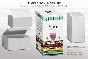 Box Mock-up Panels & Patterns