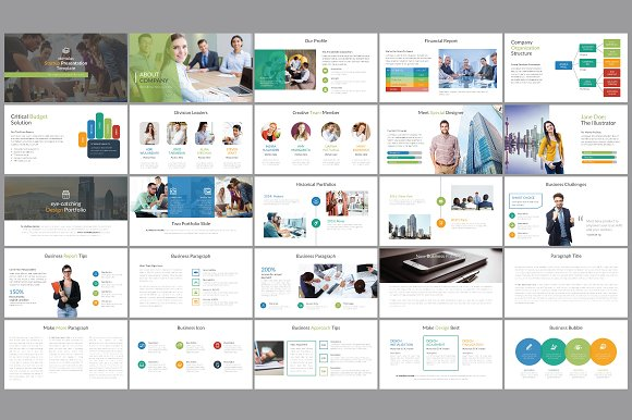 premium pitch deck template presentation templates creative market