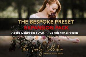 BESPOKE Lightroom Preset Expansion