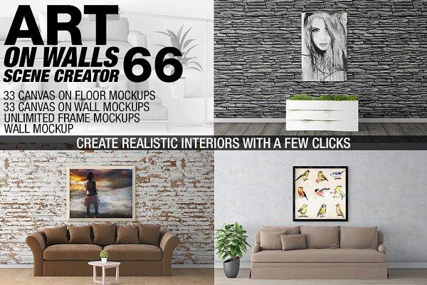 Canvas Mockups - Frames Mockups v 6…