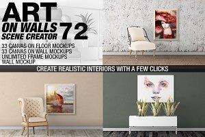 Canvas Mockups - Frames Mockups v 72