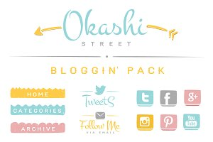 Okashi Bloggin' Pack