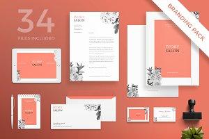 Branding Pack | Ivory Salon