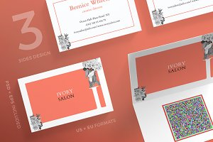 Business Cards | Ivory Salon