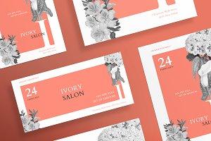 Flyers | Ivory Salon