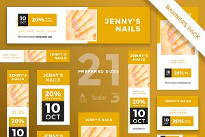 Banners Pack | Nails Style
