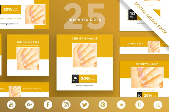Social Media Pack | Nails Style