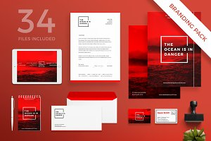 Branding Pack | Ocean in danger