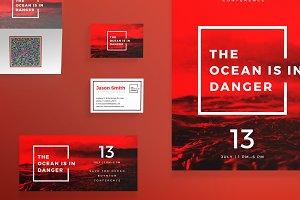 Print Pack   Ocean in danger