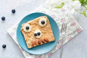 Monster sandwich for kids!