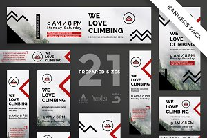 Banners Pack | Mountain