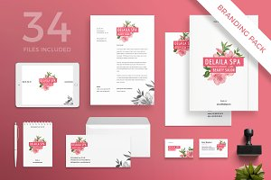 Branding Pack | Delaila Spa