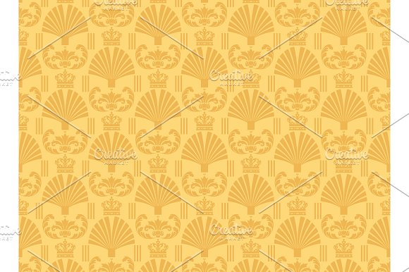 Yellow Background Chinese Wallpaper
