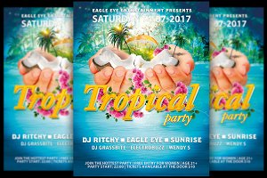 Tropical Party Flyer