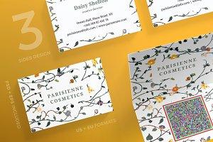 Business Cards   ParisienneCosmetics