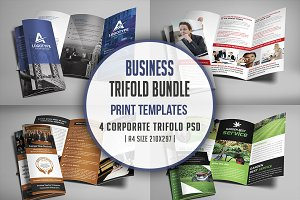 Corporate Trifold Brochure Bundle
