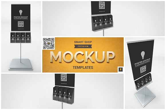 Download Poster Stand Mockup