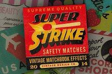 Super Strike - Matchbook Effects