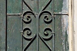 Stained Rusty Door