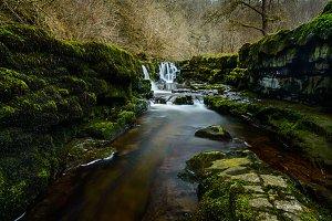 Sgwd Clun Gwyn Waterfall