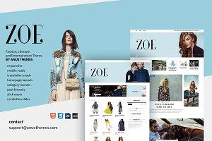 Zoe - Fashion and Entertainment
