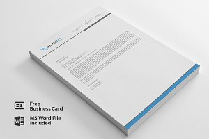Letterhead Pad & Free Business Card