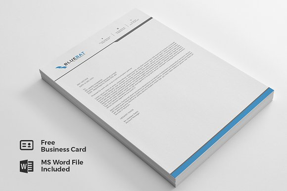 Letterhead pad free business card stationery templates letterhead pad free business card stationery friedricerecipe Images
