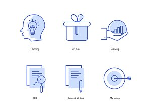 Marketing & SEO icons