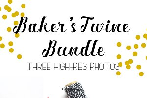 Baker's Twine Bundle - Three Photos