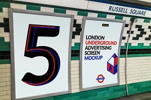 London Underground Screen Mock-Ups 2