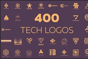400 technological logos
