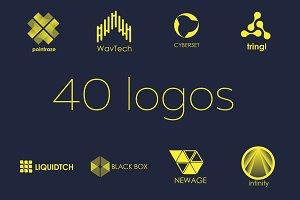40 tech logos