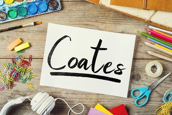 Coates Typeface