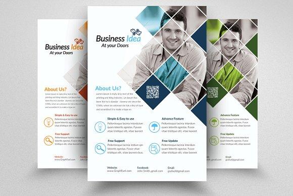 Business Idea Provider Flyers