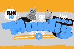 MunkyNegra-75%