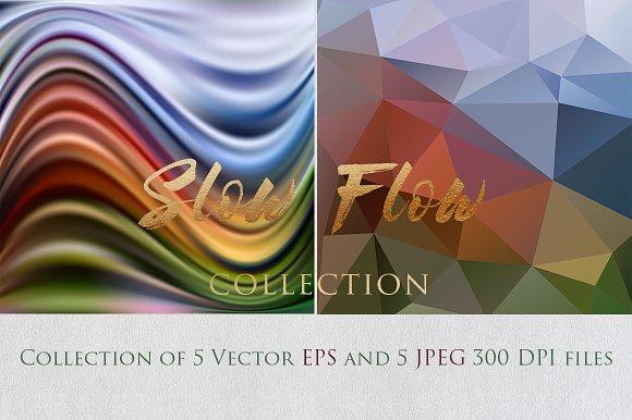 SLOW FLOW 9 Collection Textures Set